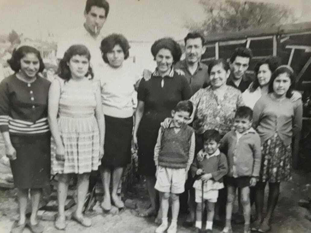 Retrato de las familias Díaz y Fernández