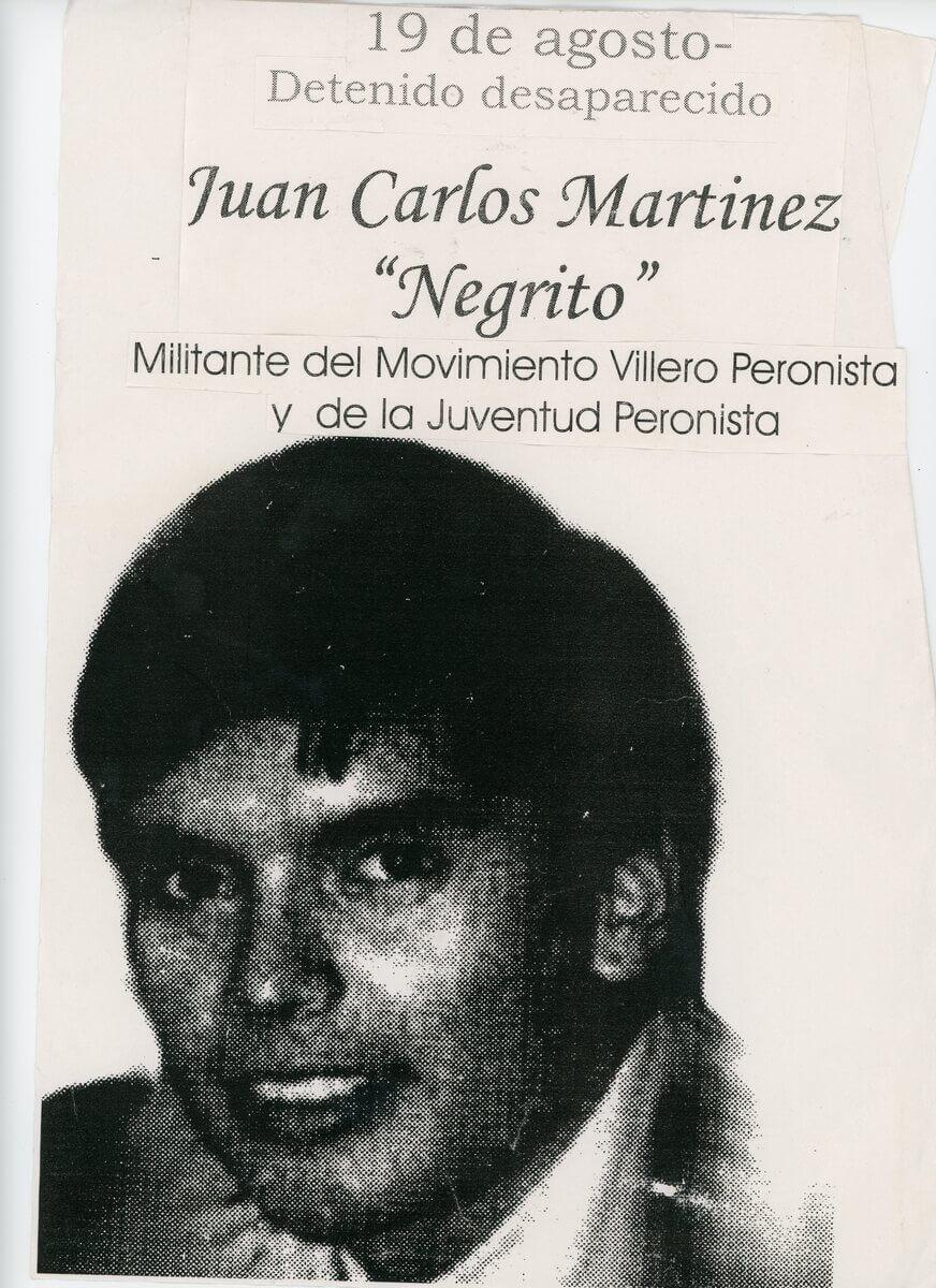 Afiche Negrito Martinez