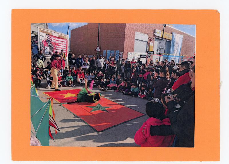 Festival sobre la calle Fonrouge