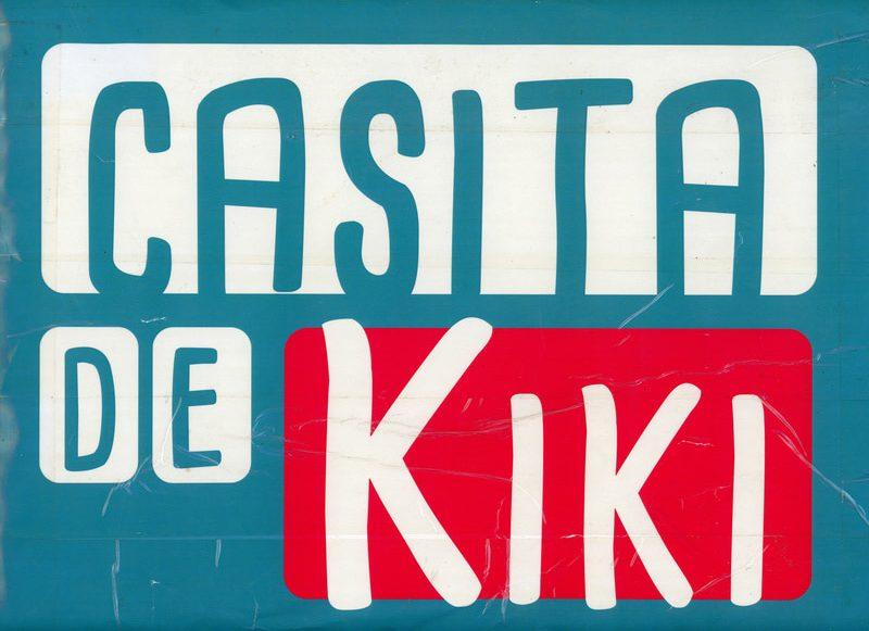 Afiche casita de kiki