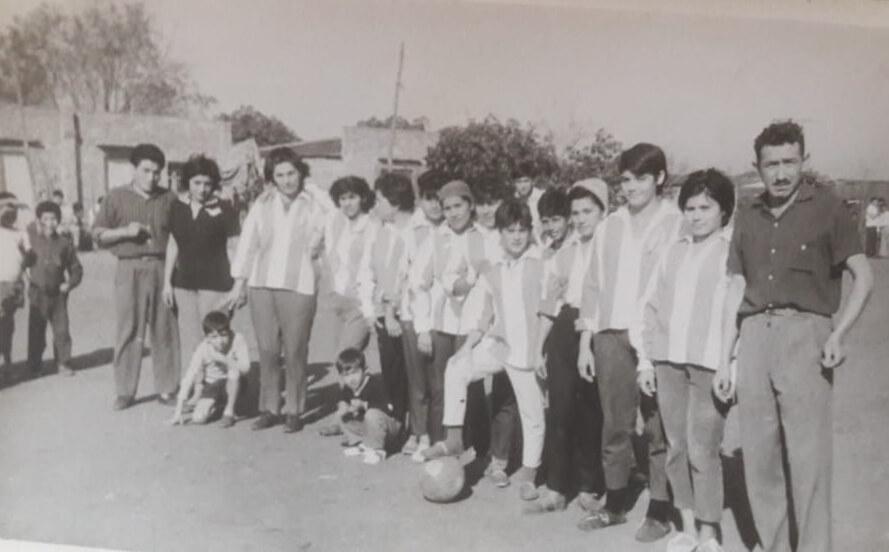 Partido histórico de fútbol femenino