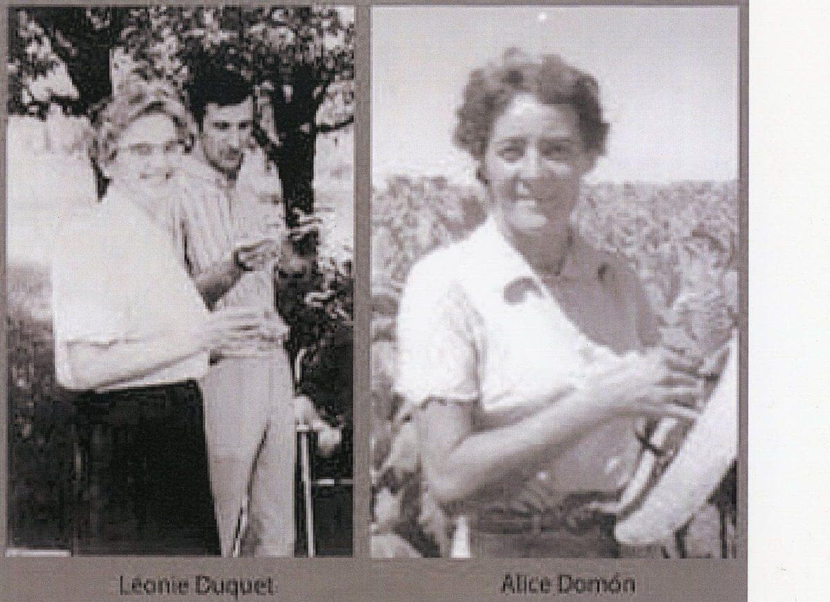 Alice Domón y Leonie Duquet