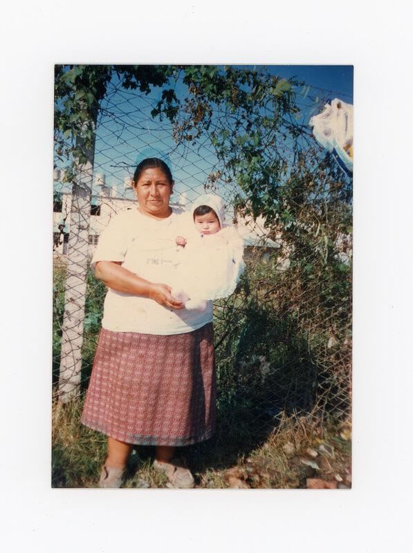 Mi mamá con mi sobrina Daniela (imagen)
