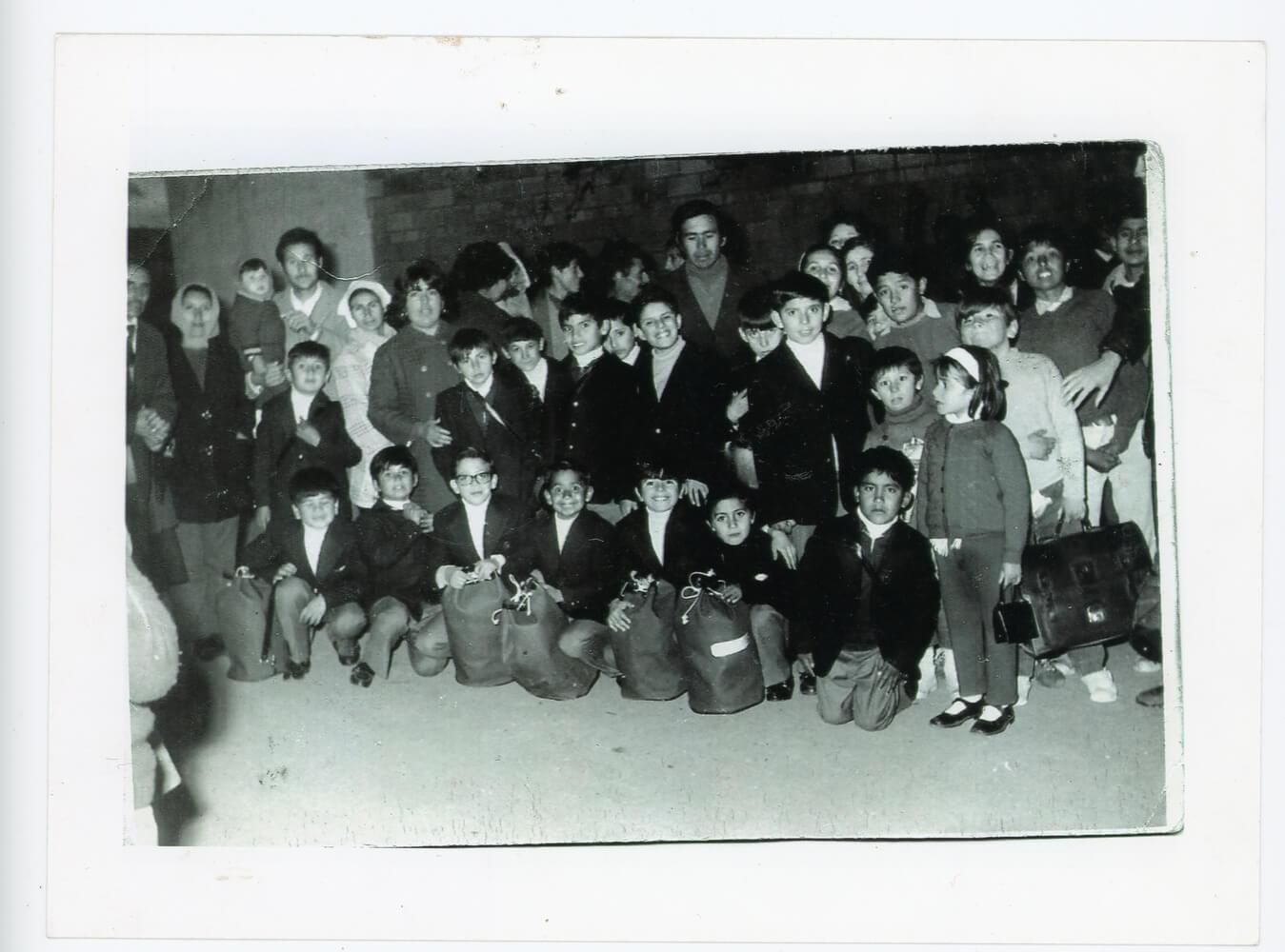 Los chicos de la guardería, se iban de viaje a Córdoba