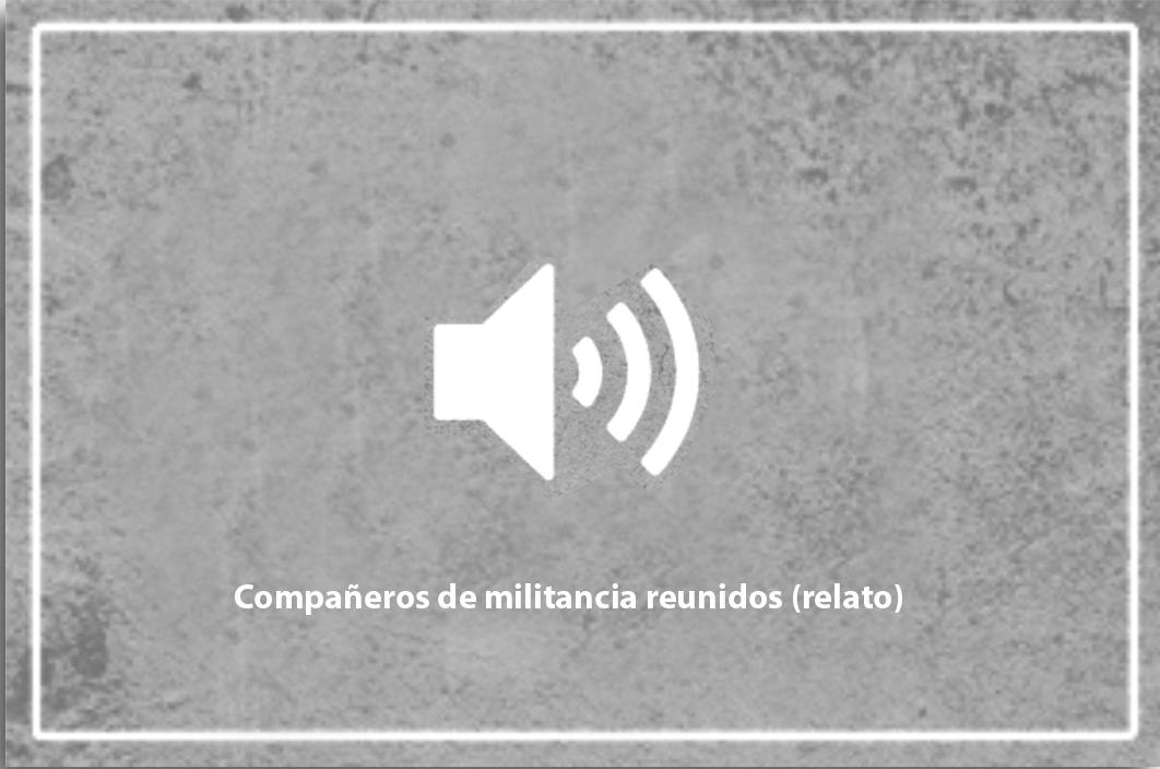 Compañeros de militancia reunidos (relato)